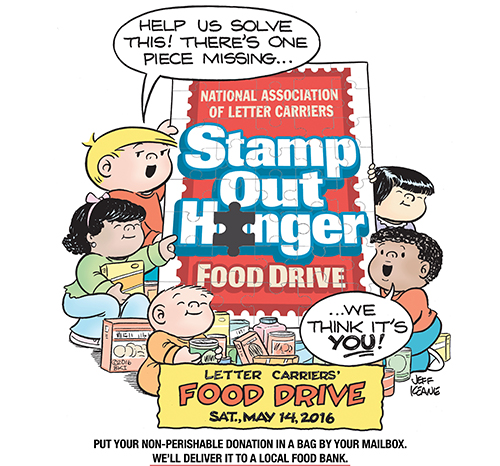 Stamp Out Hunger 1